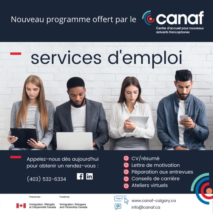 Service emploi CANAF
